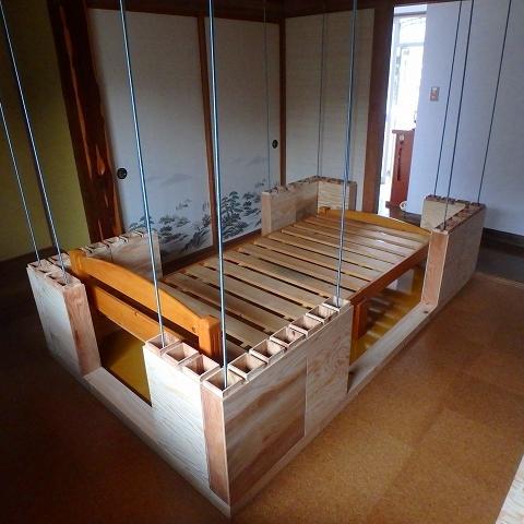 耐震ベッドシェルター